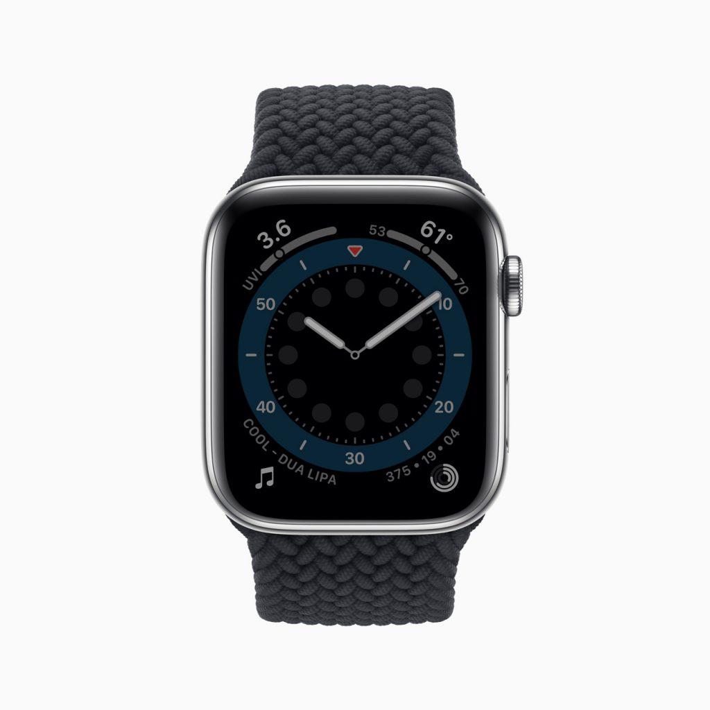 Apple watch 6 always on display