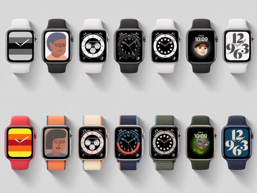 Apple watch 6 watch faces